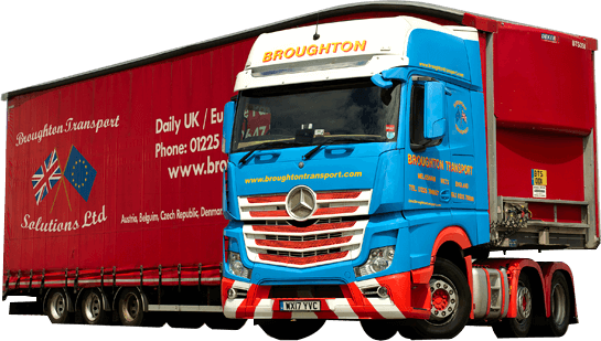 CONTACT BROUGHTON TRANSPORT SOLUTIONS