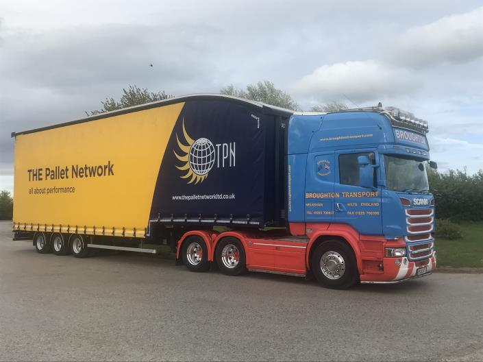 Next day pallet delivery - Broughton Transport